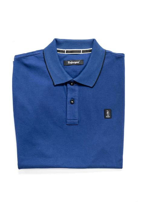 REFRIGUE POLO PIQUET STRETCH BLU REFRIGUE | Polo | 50074PIQUET STRETCH-11290