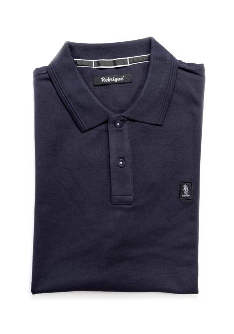 REFRIGUE POLO COTTON PIQUET BLU REFRIGUE | Polo | 50090COTTON PIQUET-034