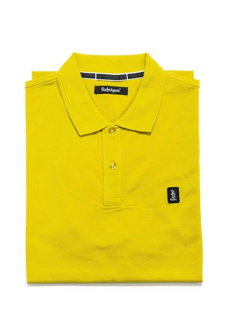 REFRIGUE POLO COTTON PIQUET GIALLO REFRIGUE | Polo | 50090COTTON PIQUET-068