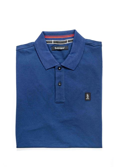 REFRIGUE POLO COTTON PIQUET BLU ECLIPSE REFRIGUE | Polo | 50090COTTON PIQUET-11290