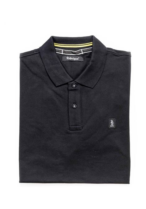 REFRIGUE POLO PIQUET NERO REFRIGUE | Polo | 50091PIQUET STRETCH-001