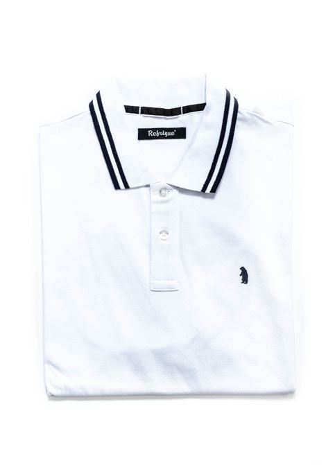 REFRIGUE POLO BEAR BIANCO REFRIGUE | Polo | 50092PIQUET STRETCH-092