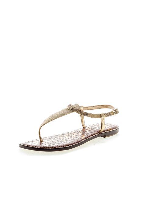 Sandalo Gigi pelle cuoio SAM EDELMAN | Sandali flats | GIGIPELLE-TAN