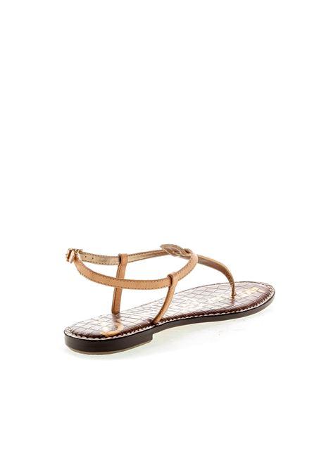Sandalo Gigi pitone beige SAM EDELMAN | Sandali flats | GIGIPITONE BEIGE