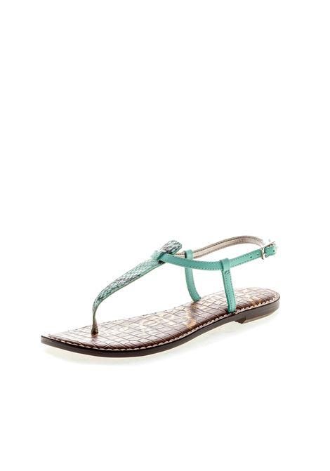 Sandalo Gigi pitone azzurro SAM EDELMAN | Sandali flats | GIGIPITONE-AZZURRO