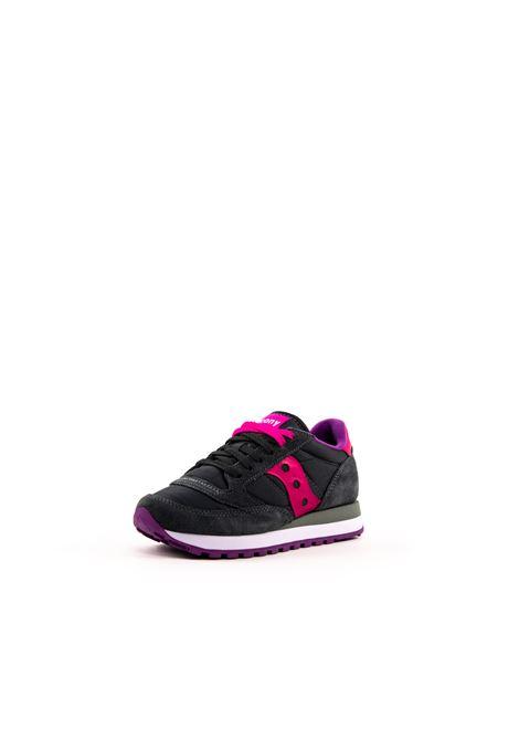 SAUCONY SNEAKER JAZZ CARBONE/ROSA SAUCONY | Sneakers | 1044JAZZ-324