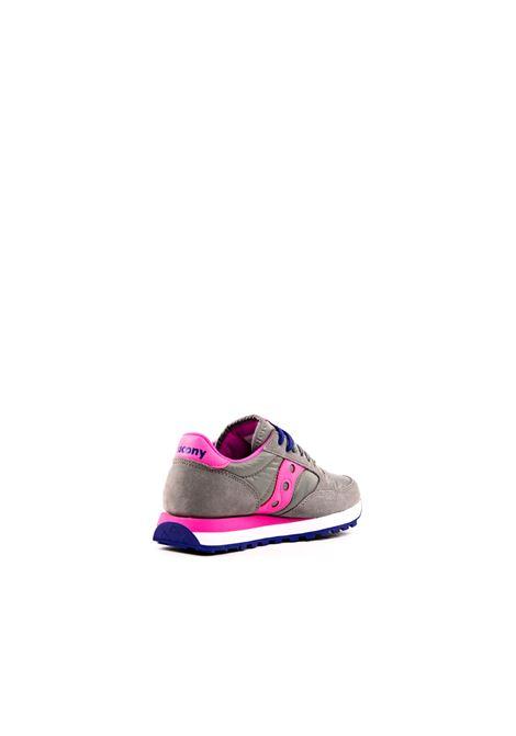 SAUCONY SNEAKER JAZZ GRIGIO/ROSA SAUCONY | Sneakers | 1044JAZZ-463