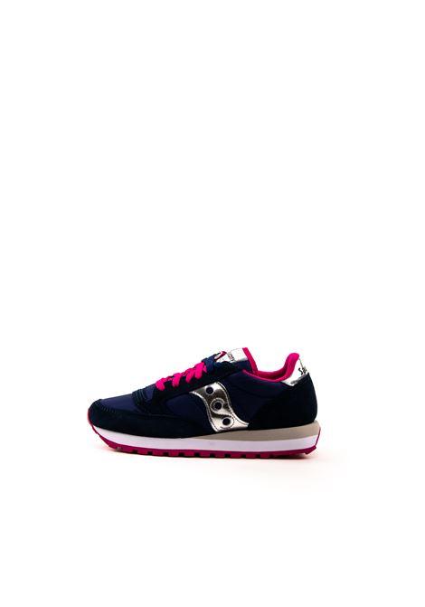 SAUCONY SNEAKER JAZZ BLU/ARGENTO SAUCONY | Sneakers | 1044JAZZ-540
