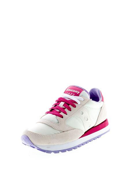 SAUCONY SNEAKER JAZZ BIANCO/ROSA SAUCONY | Sneakers | 1044JAZZ-570