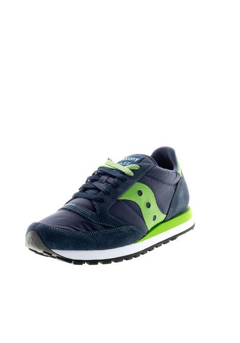 SAUCONY SNEAKER JAZZ BLU/VERDE SAUCONY | Sneakers | 2044JAZZ-336