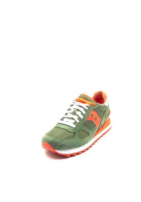 Saucony Sneaker Shadow verde/arancio SAUCONY | Sneakers | 2108SHADOW-731