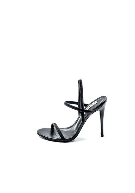 Sandalo Gabriella pelle nero tacco120 STEVE MADDEN | Sandali | GABRIELLAPELLE-BLACK