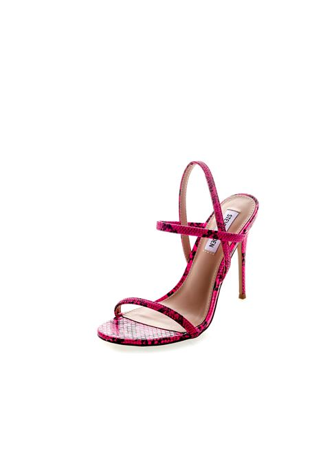 Sandalo Gabriella pitone rosa tacco120 STEVE MADDEN | Sandali | GABRIELLASNAKE-PINK