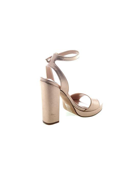 Sandalo Gesture laminato oro tacco120 STEVE MADDEN | Sandali | GESTURELAM-ROSE GOLD