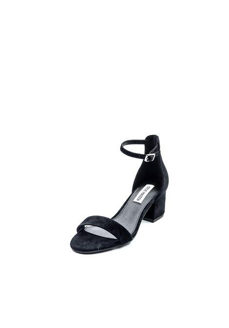 Sandalo Irenee camoscio nero tacco 60 STEVE MADDEN | Sandali | IRENEESUEDE-BLACK