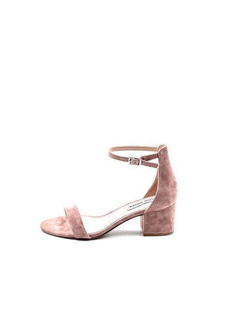 Sandalo Irenee camoscio cipria tacco60 STEVE MADDEN | Sandali | IRENEESUEDE-MAUVE