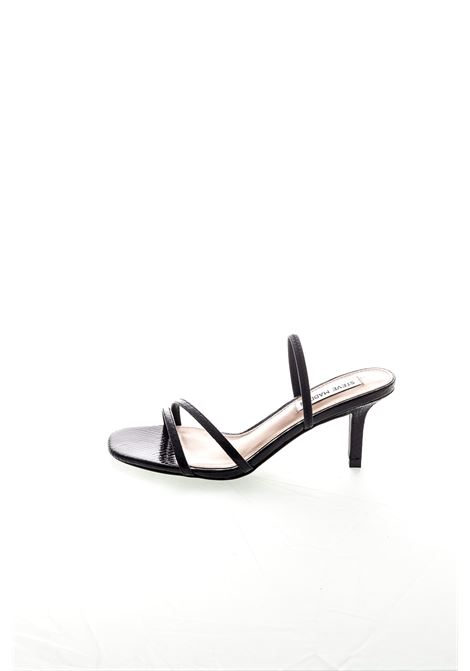 Sandalo Loft pitone nero tacco70 STEVE MADDEN | Sandali | LOFTSNAKE-BLACK