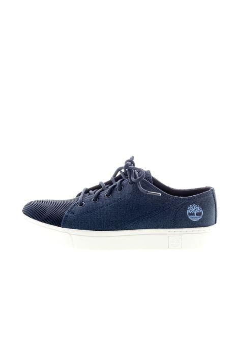 TIMBERLAND SNEAKER AMHERST FLEXIBLE BLU TIMBERLAND | Sneakers | TB0A29N10191AMHERST FLEXI-BLACK IRIS