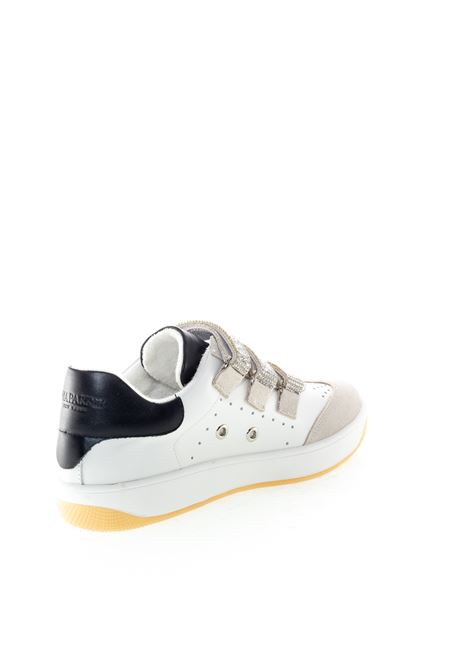 Uma Parker  Sneaker Las Vegas pelle/camoscio bianco UMA PARKER NEW YORK   Sneakers   LAS VEGASPELLE/CAM-WHT/BLK