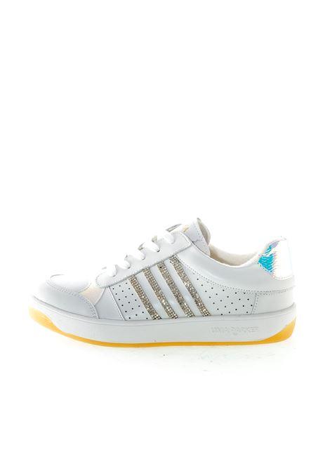 Uma Parker Sneaker Miami pelle bianco/argento UMA PARKER NEW YORK | Sneakers | MIAMIPELLE-WHT/SILVER