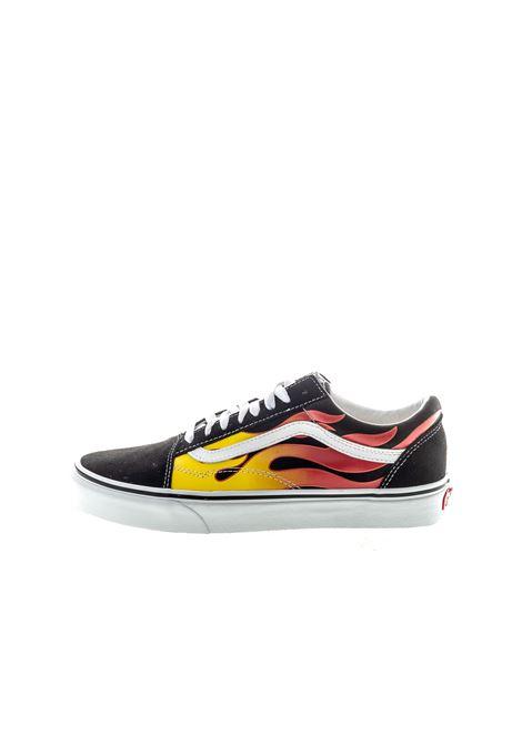Vans sneaker old skool flame VANS | Sneakers | VN0A38G1PHN1OLD SKOOL FLAME-BLK/WHT