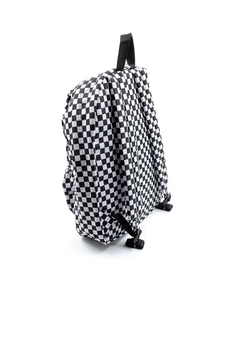 Vans zaino old skool scacchi  VANS | Zaini | VN0A3I6RHU01OLD SKOOL-BLACK/WHT