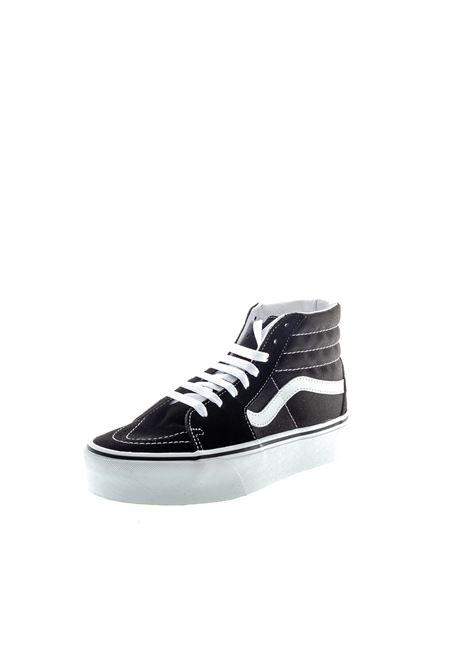 Vans sneaker sk8-hi platform nero/bianco VANS | Sneakers | VN0A3TKN6BT1SKI8 PLATFORM-BLK/WHT