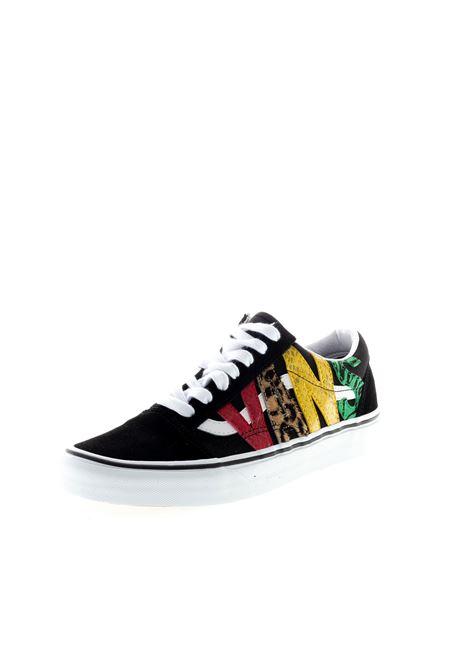 VANS SNEAKER OLD SKOOL ANIMALIER VANS | Sneakers | VN0A4U3BXF11OLD SKOOL-RASTA/BLK