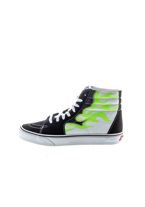 VANS | Sneakers | VN0A4U3CXEY1SK8HI FLAME-BLK/WHT