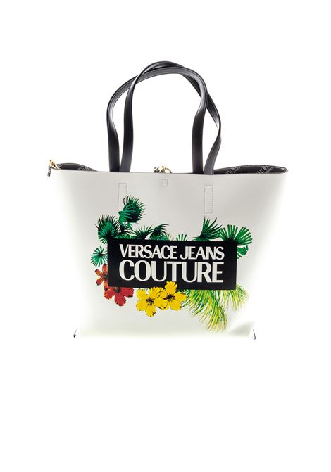 VERSACE JEANS COUTURE SHOPPING REVERSIBILE BIANCO VERSACE JEANS COUTURE | Borse a spalla | BB5071501-003