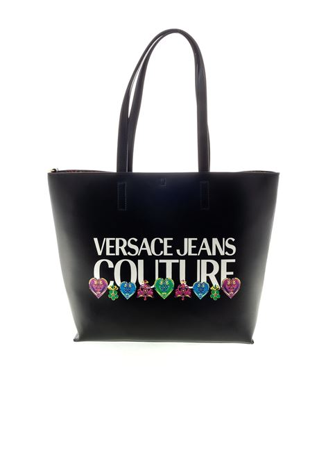 VERSACE JEANS COUTURE SHOPPING REVERSIBILE NERO VERSACE JEANS COUTURE | Borse a spalla | BB5071501-899