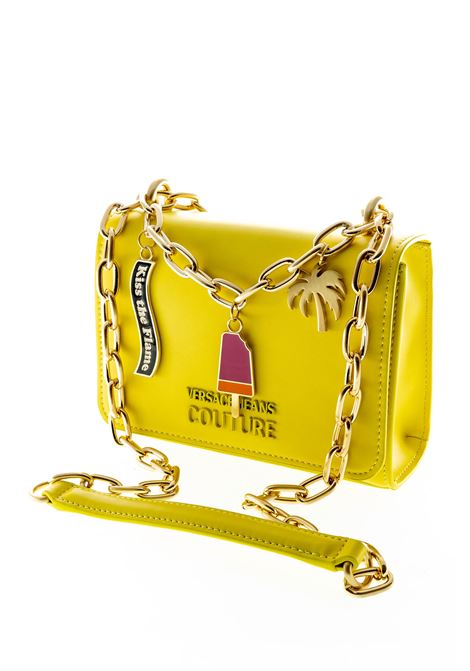 VERSACE JEANS COUTURE TRACOLLA CHARMS GIALLO VERSACE JEANS COUTURE | Borse mini | BB6171502-600