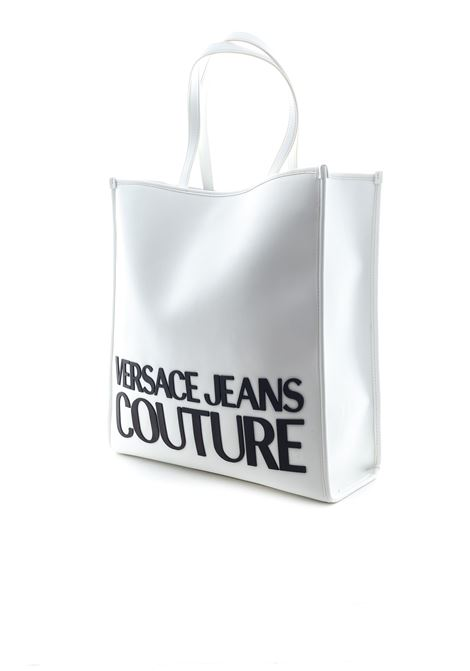 VERSACE JEANS COUTURE SHOPPING MACROLOGO BIANCO VERSACE JEANS COUTURE | Borse a spalla | BBM971413-003