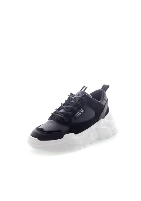 VERSACE JEANS COUTURE SNEAKER PELLE NERO VERSACE JEANS COUTURE | Sneakers | BSC271366-899