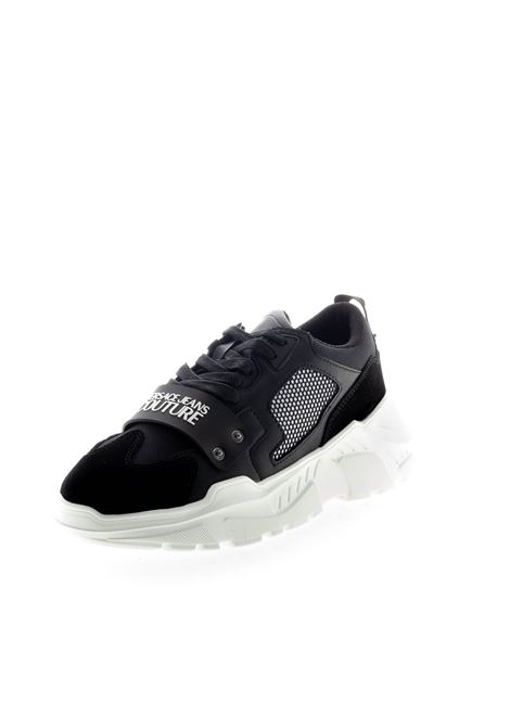 VERSACE JEANS COUTURE SNEAKER NERO VERSACE JEANS COUTURE | Sneakers | BSC471381-899