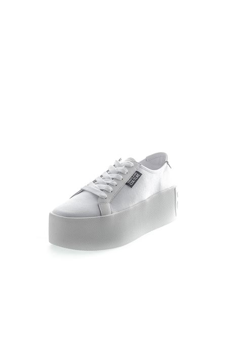 VERSACE JEANS COUTURE SNEAKER PLATFORM BIANCO VERSACE JEANS COUTURE | Sneakers | BSH471389-003