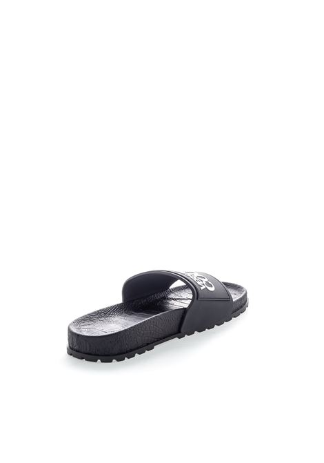 VERSACE JEANS COUTURE SANDALO FLAT NERO VERSACE JEANS COUTURE | Sandali flats | BSQ271353-899