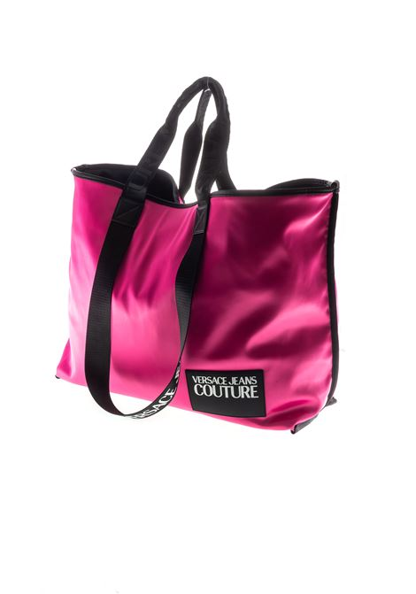 VERSACE JEANS COUTURE SHOPPING SATIN FUCSIA VERSACE JEANS COUTURE | Borse a mano | BT971420-401