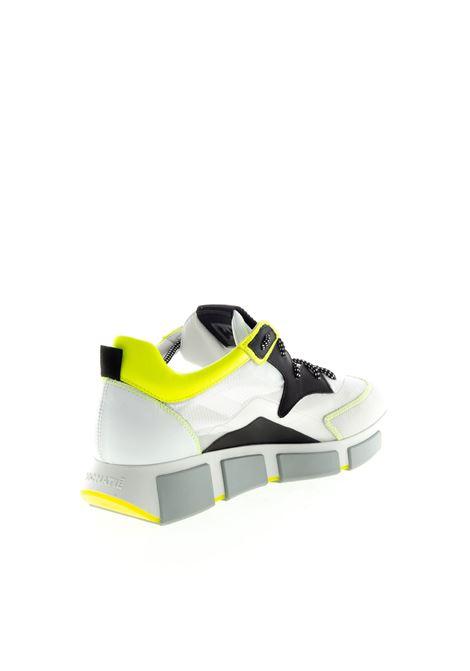VIC MATIÉ SNEAKER RIPSTOP BIANCO/GIALLO VIC MATIÈ   Sneakers   8132CAM/RIPSTOP-102