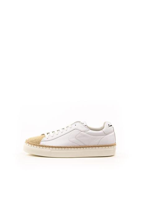 VOILE BLANCHE SNEAKER AMALFI JUTA BIANCO VOILE BLANCHE | Sneakers | 2014785AMALFI-1D64