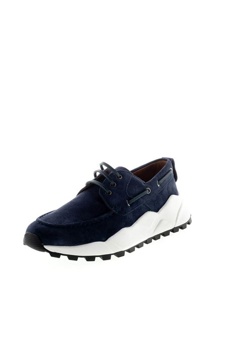 VOILE BLANCHE SNEAKER EXTREMER BLU VOILE BLANCHE | Sneakers | 2014805EXTREEMER-OC01