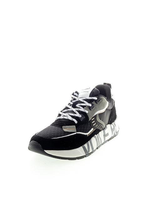 Sneaker Club camoscio/nylon nero VOILE BLANCHE | Sneakers | 2014828CLUB01-0A01