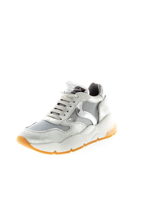 Voile Blanche Sneaker Sheel Argento VOILE BLANCHE | Sneakers | 2014986SHEEL-0Q04