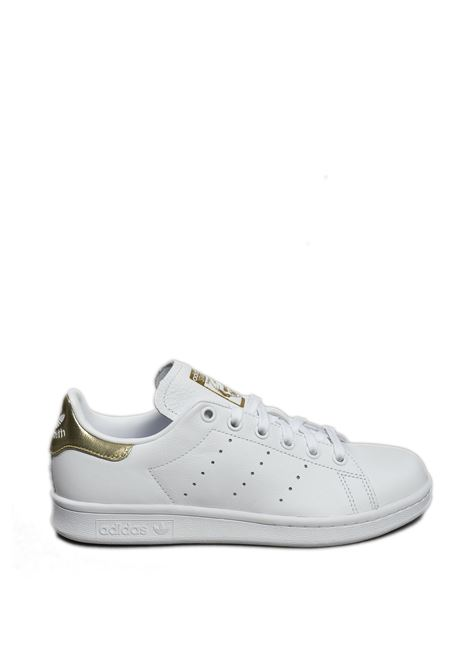 Sneaker stan smith bianco/oro ADIDAS | Sneakers | EE8836STAN SMITH-BIANCO/ORO