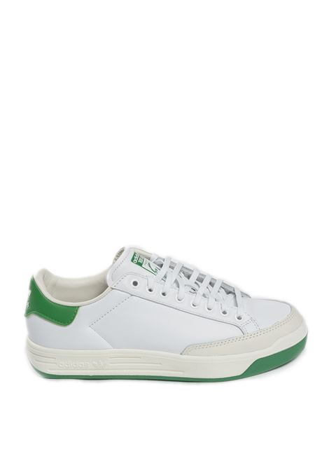 Sneaker rod laver bianco/verde ADIDAS | Sneakers | FX5605ROD LAVER-BIANCO/VERDE