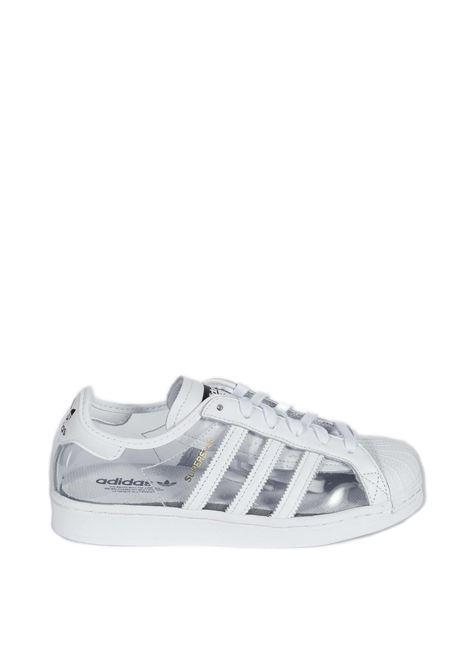 Sneaker superstar pvc bianco ADIDAS | Sneakers | FZ0245SUPERSTAR-PVC/BIANCO