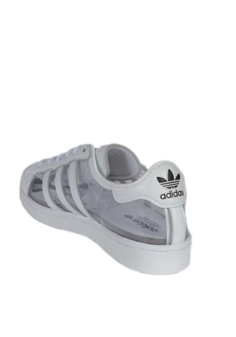 Sneaker superstar pvc bianco ADIDAS | Sneakers | FZ0245SUPERSTAR-PVC/BIANCO