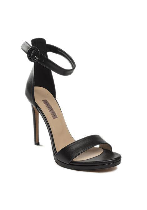 Sandalo cinturino nero ALBANO | Sandali | 4050SOFT-NERO