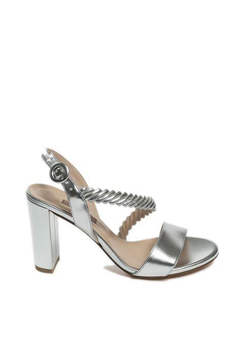 Sandalo intreccio argento ALBANO | Sandali | 4126MET-ARGENTO