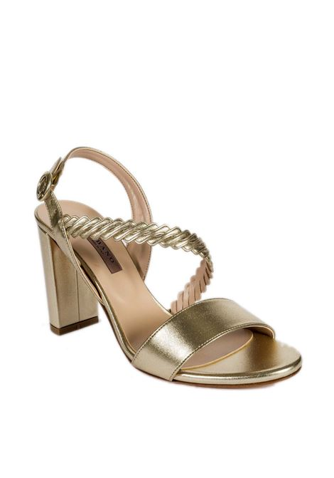 Sandalo intreccio platino ALBANO | Sandali | 4126MET-PLATINO